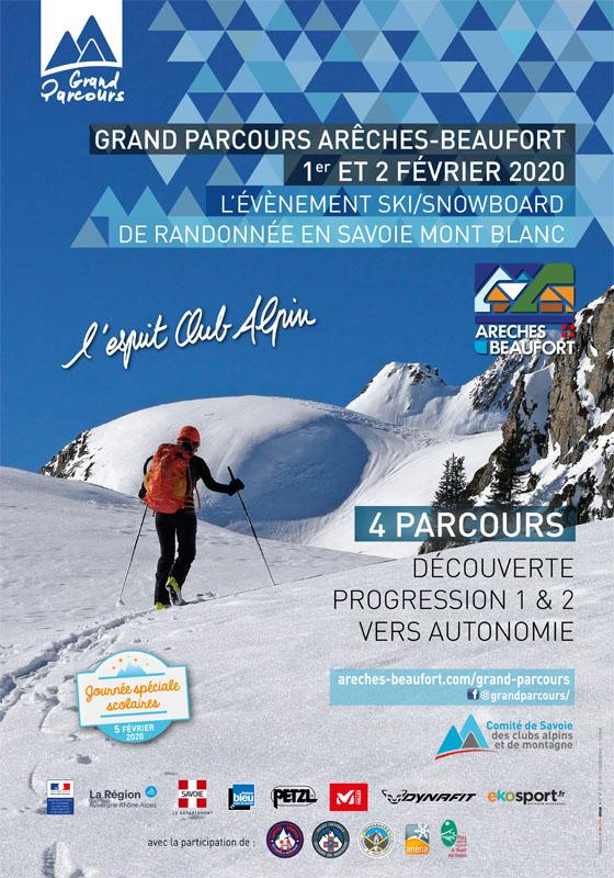 Grand Parcours Arèches Beaufort 2020