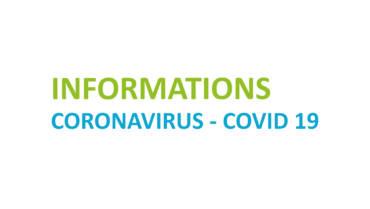 INFORMATION COVID – Janvier 2021