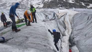 Formation en Terrain Glaciaire, du 26 au 28 juin 2021