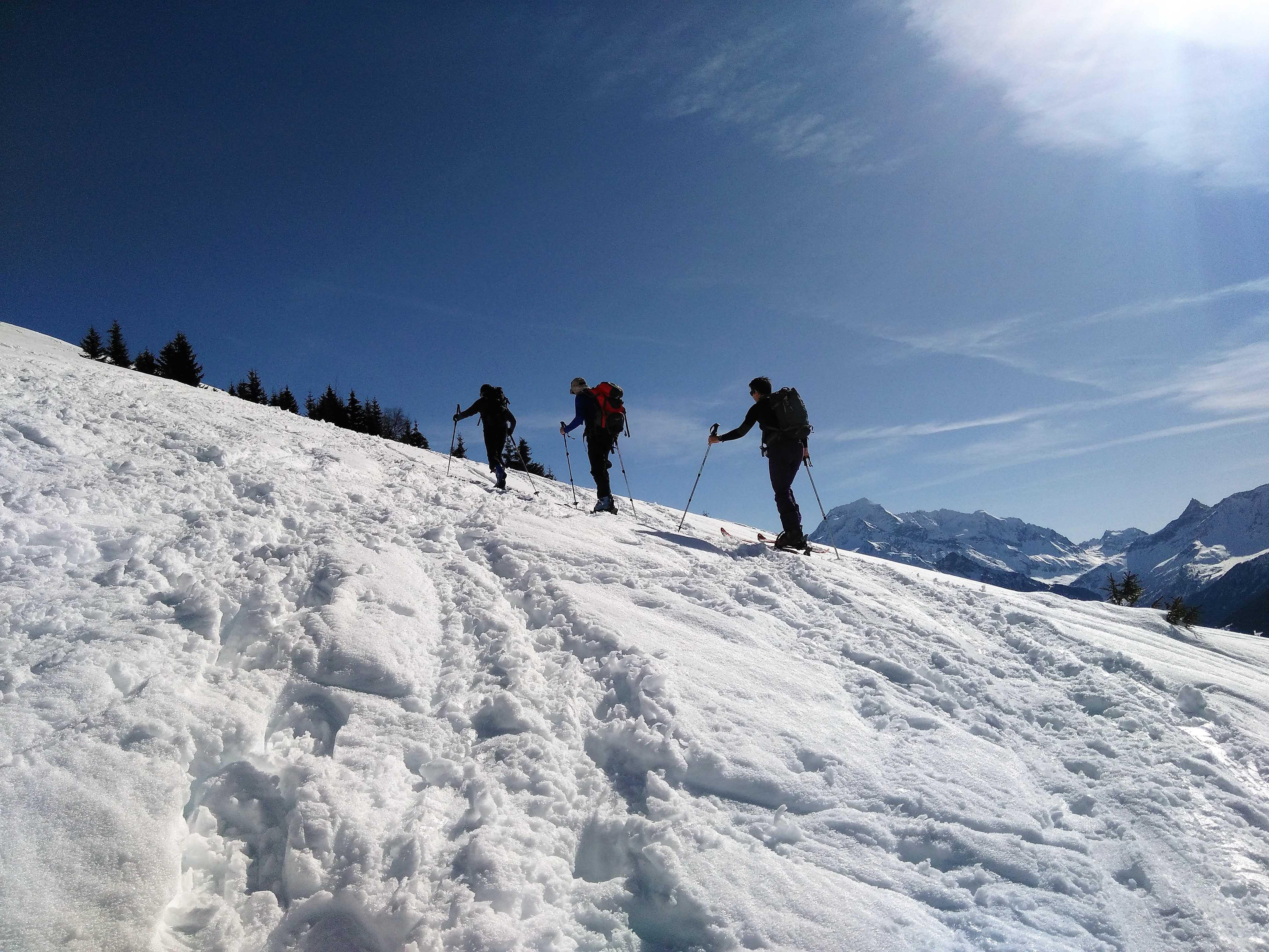 Ski de randonnée - CAF Horizon Vertical