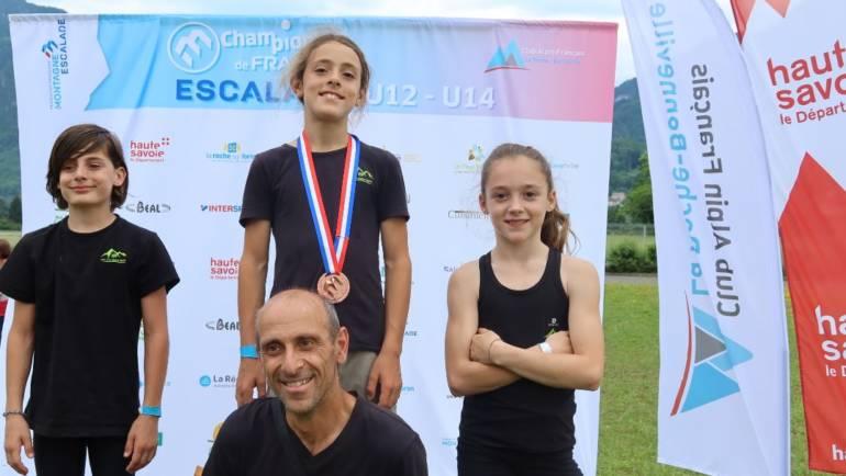 Championnats de France d'escalade U12 et U14, les 26 et 27 juin 2021