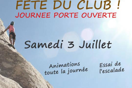 FÊTE DU CLUB / JOURNÉE PORTE OUVERTE