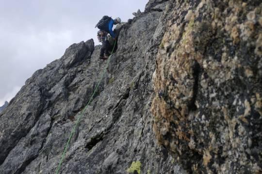 Alpinisme : Unité de Formation «Assurage en mouvement»
