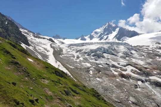 Unité Formation Progression sur terrain Glaciaire